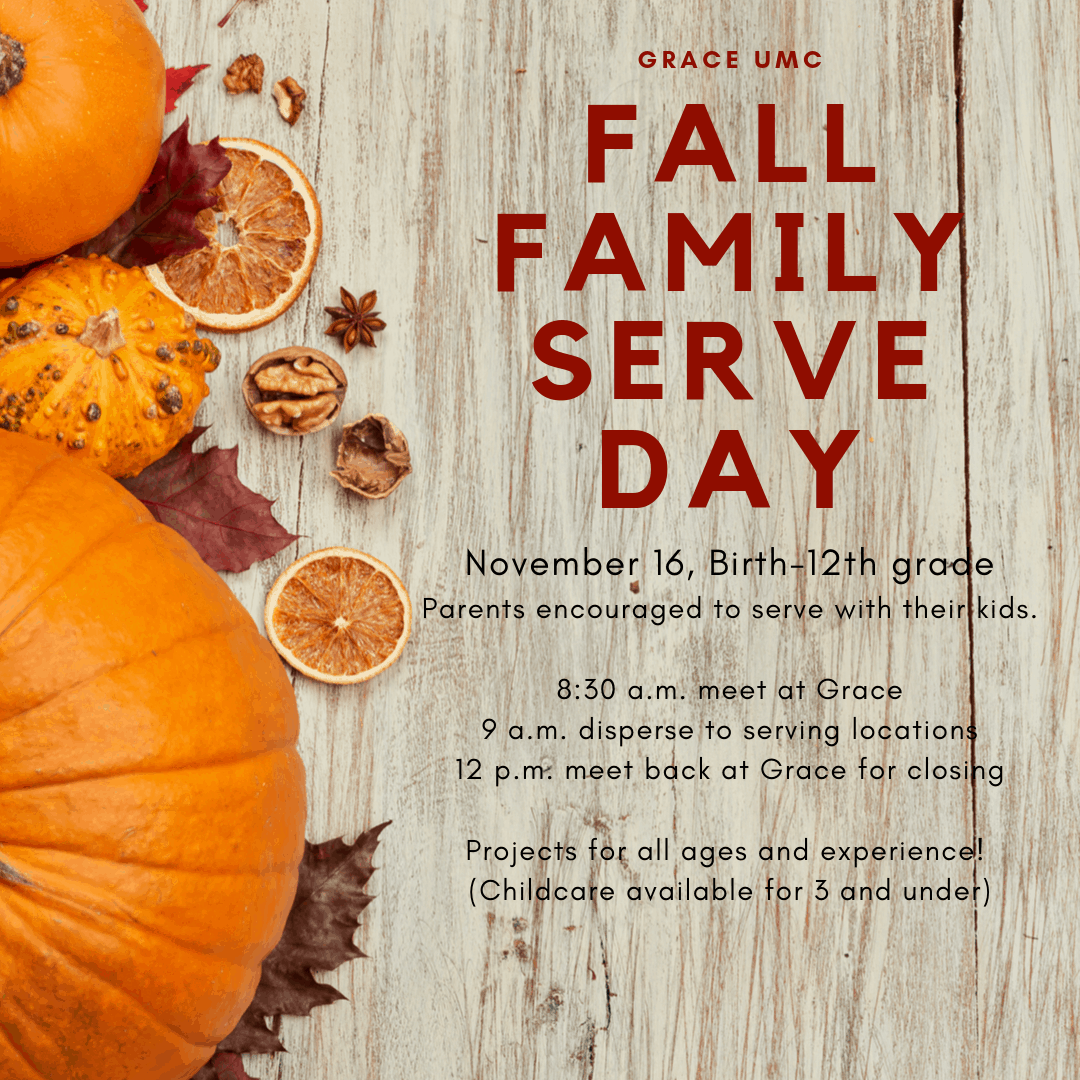2019 Fall Family Serve