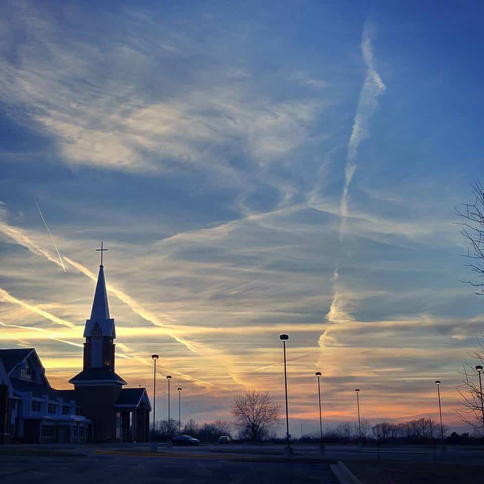 Grace UMC Olathe Sunset